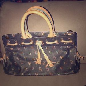 Dooney & Burke Vintage Monogram Bag